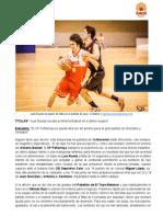 Luis rueda rescata al Almería Basket en el último suspiro  - Almería Basket 72 - 70 CP Peñarroya