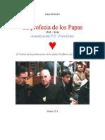 Profecía de los Papas- Segunda Actualización