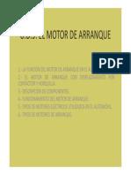 6. El Motor de Arranque
