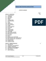 2014 F1 Technical Regulations