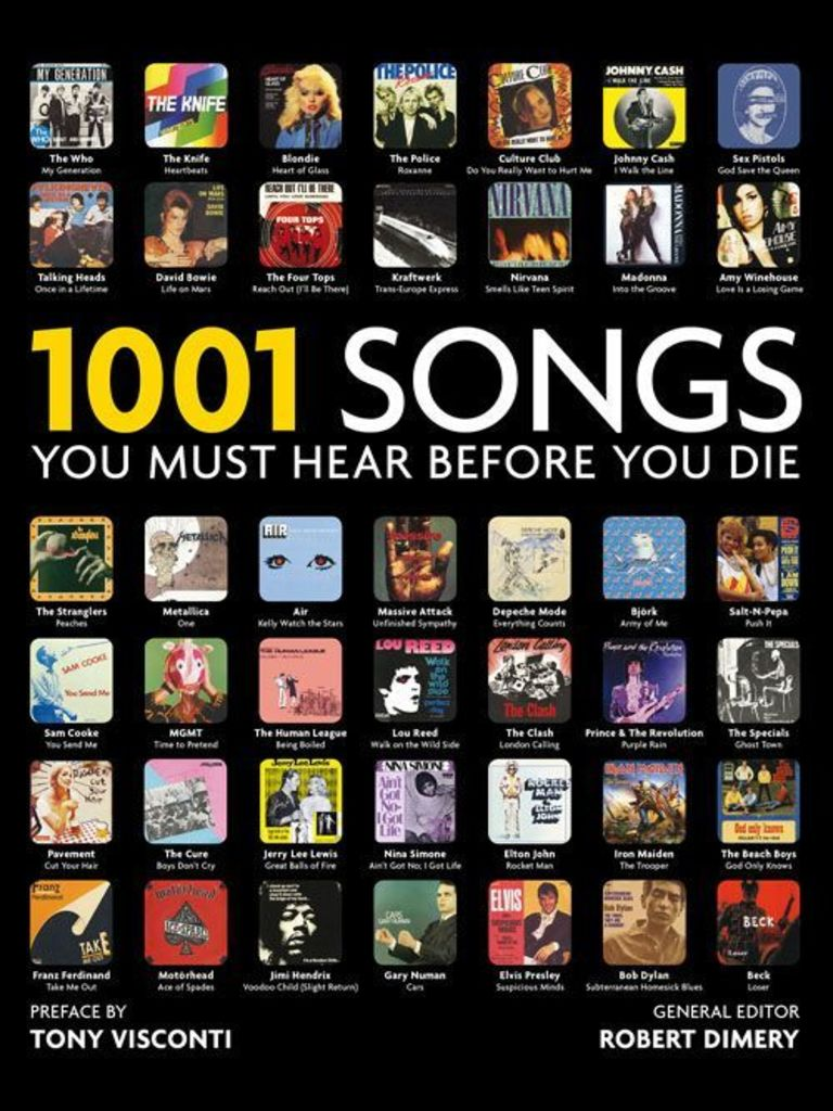 1001 Songs You Must Hear Before You Die  Gramophone Record  Pop Culture