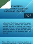 i  autonomous technology-assisted language learning-i