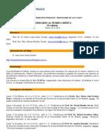 Programa Teoria Critica - Curso 2013-2104- Xi Edicion