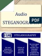 Audio stenography