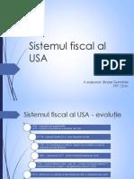 Sistemul Fiscal Al USA