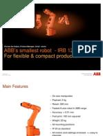 ABB IRB120 Presentation