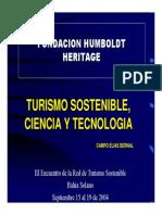 ciencia y tecnología en turismo