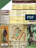 Folleto XV Jornadas Medievales de Oropesa, Toledo, 2014