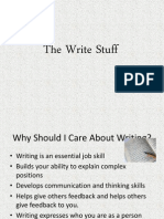 The Write Stuff Region
