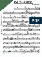 Nestico Arrange Jazz Big Band - (Part Score) Hayburner (Nest
