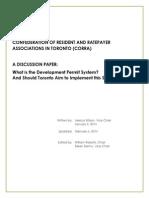 CORRA DPS Discussion Paper