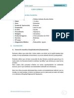 CASO  CLÍNICO pielonefritis