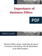 Importance Business Ethics i
