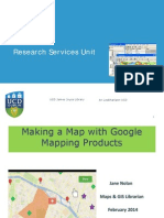 Making a Map With Google Mapping Products Feb2014