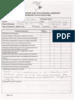 educational assistant performance evaluation form-sarah saunders
