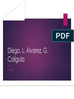 Unidad 8 Calígula - Diego Álvarez Grajales