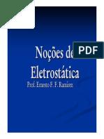 Noções de eletrostatica - 1
