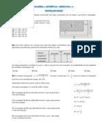 Algebra Aritmetica Exercicios
