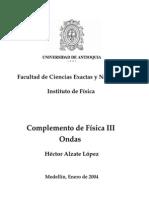 Complemento de Física III. Ondas, Héctor Alzate López