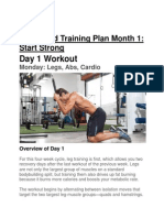 Rock Hard Training Plan