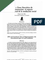 ZPD y Zona Sincrética de Representación