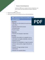 Pruebas de función respiratoria - PC III