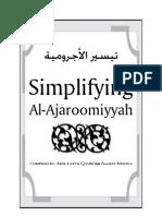 Ajaroomiyyah Eng Arabic