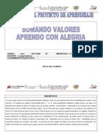 Proyecto de Aprendizaje 3ero a 2013-2014