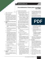 Asesoria Empresarial - Constitucion de EIRL