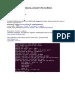 Instalación de un servidor y dos clientes ftp