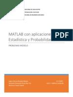 Matlab Aplicado a La Estadistica y Probabilidades