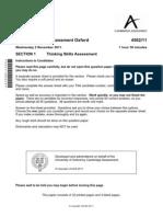 99504-Tsa Oxford Section 1 2011