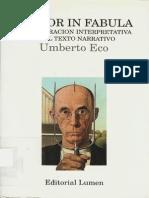 23617010 Eco Umberto Lector in Fabula La Cooperacion Interpretativa en El Texto Narrativo 1979