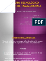 PAGINACIÓN ANTICIPADA