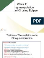 11 Eclipse String Fileio