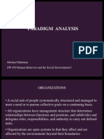 sw 659 paradigm analysis