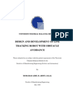 Design and Development of Line Tracking Robot With Obstacle Avoidance - Mohamad Aidil Abdul Jalal - TJ211.495.M34 2008