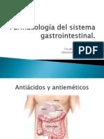Farmacologia Del Sitema Gastrointestinal