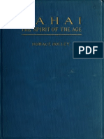 Bahai Spirit of the Age (1921) by Horace Holley