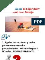 Reglas Básicas de Seguridad y Salud en el Trabajo