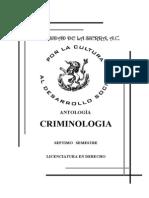 Antologia de La Criminologia