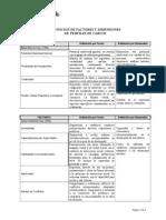 Definición de Dimensiones y Factores Perfil Cargos (1)