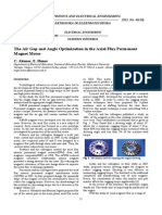 06__ISSN_1392-1215_The Air Gap and Angle Optimization in the Axial Flux Permanent Magnet Motor