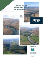Landscape Definition and Description Clutha Mata-Au River May 2007