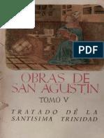 LIBRO - AGUSTÍN DE HIPONA - OBRAS COMPLETAS - TOMO V - DE TRINITATE