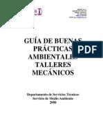 Prácticas Ambientales Talleres Mecánicos