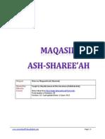 Saheefa Maqasid Ash Shareeah V2.0