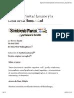 Simbiosis  Planta:Humano y la Caída de La Humanidad.pdf