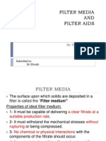 Filter Media and Filter Aids