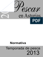 Normas Pesca II 2013